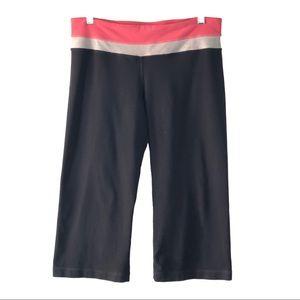 Lululemon Capri Length Athletic Pants Pink & Gray